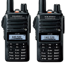Yaesu FT-65R and FT-25R