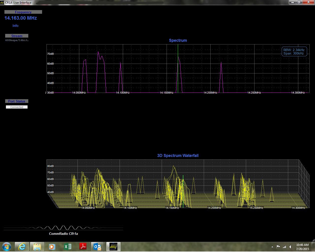 Dxing Newsroom Active Antenna Aa 7 Hf Vhf Uhf 3 3000mhz Commradio Cr1a